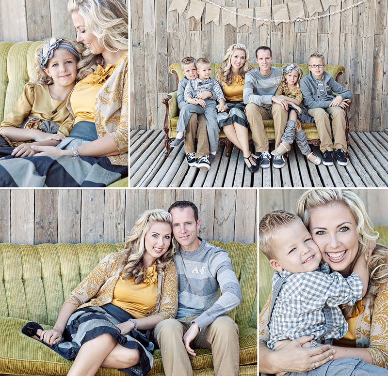 Family Picture Ideas Grey