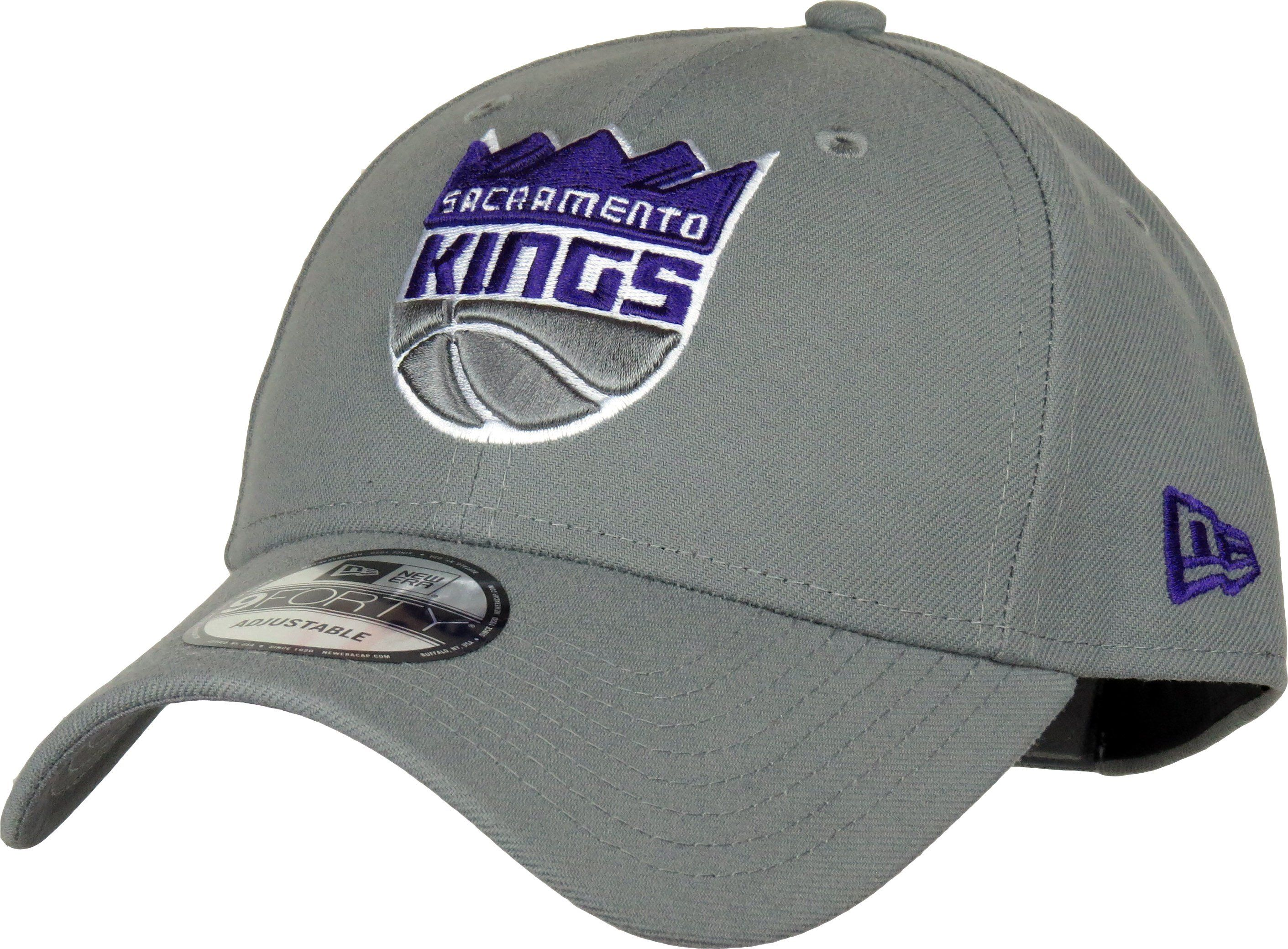quality design 9a937 a1581 New Era 9Forty NBA The League Adjustable Team Cap. Grey with the Sacramento  Kings front logo, the New Era side logo, and the KINGS rear strap logo.
