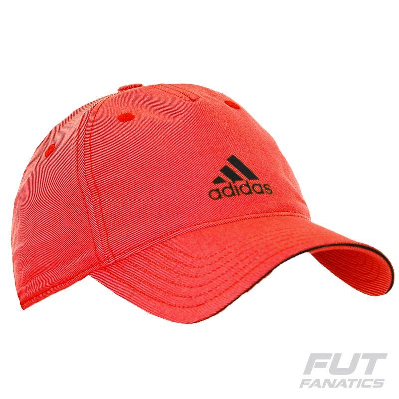 Boné Adidas Climalite Logo Laranja  581b005e4e3