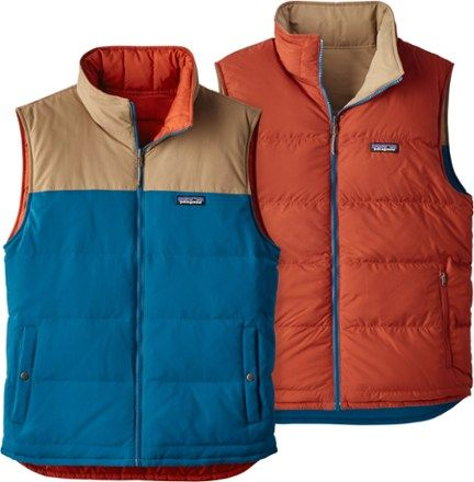 Patagonia Reversible Bivy Down Vest Men's | REI Co op