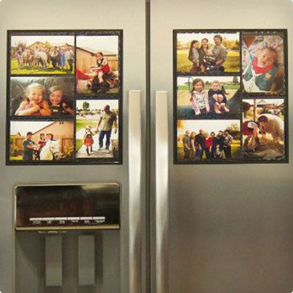 Magnetic Picture Collage