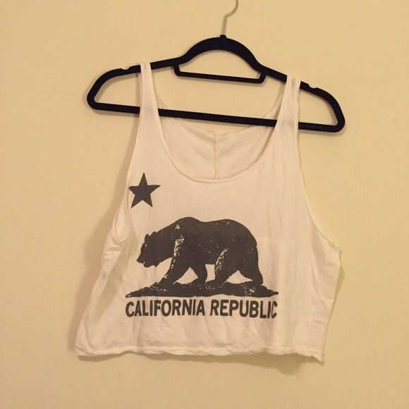 Brandy Melville loose tank Perfect for summer. Loose Fit. Cute Print  Brandy Melville Tops Tank Tops