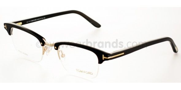 1b86f3264a Tom Ford TF 5260 Tom Ford TF5260 032 Yellow Gold Plated  Striped Black Horn  Tom Ford Glasses   FREE Prescription Lenses   Worldwide Delivery