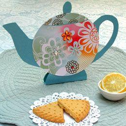 Pretty Paper Teapot