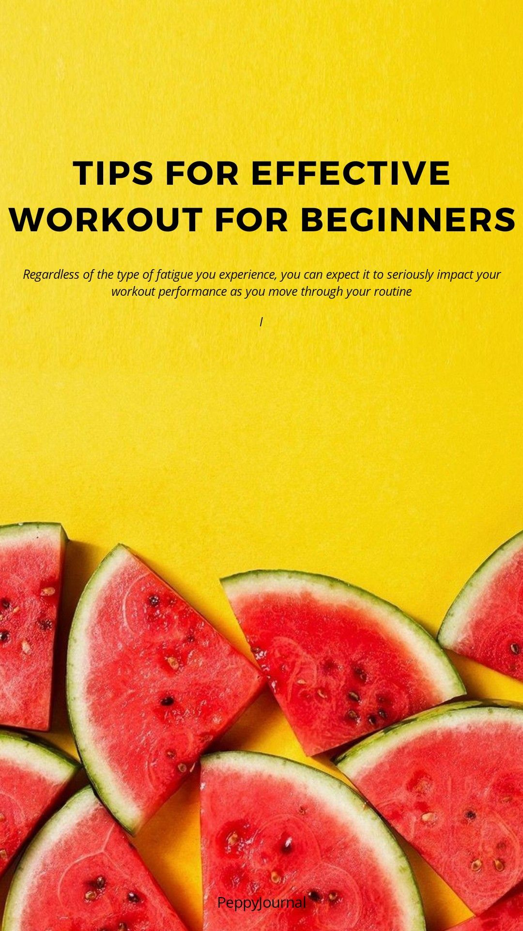5 Things To Do And Not To Do To Make Your Workout Easy