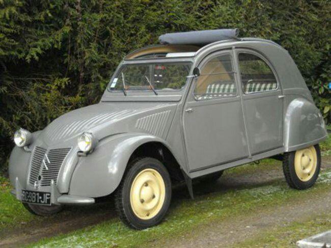 Citroen 2cv Youngtimer Oldtimer Autos
