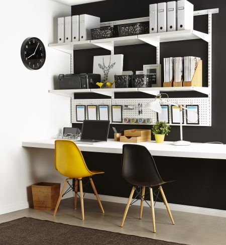 home office solution. This Custom Designed Office Solution Will Not Only Look Great In Your Home Office, It