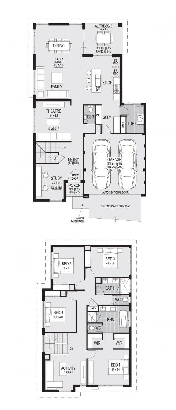 Plan compact housedesign designhome