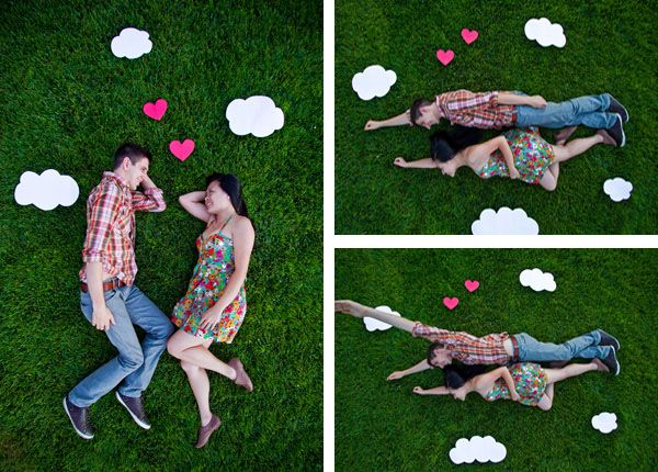 adorable+ fun engagement session. Photo by Michelle Chiu Photography.