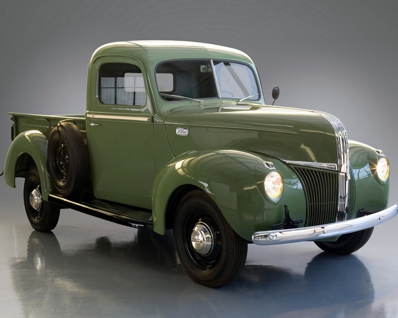 1280x1024 Free Desktop Wallpaper Downloads Classic Classic Pickup Trucks Ford Trucks Pickup Trucks