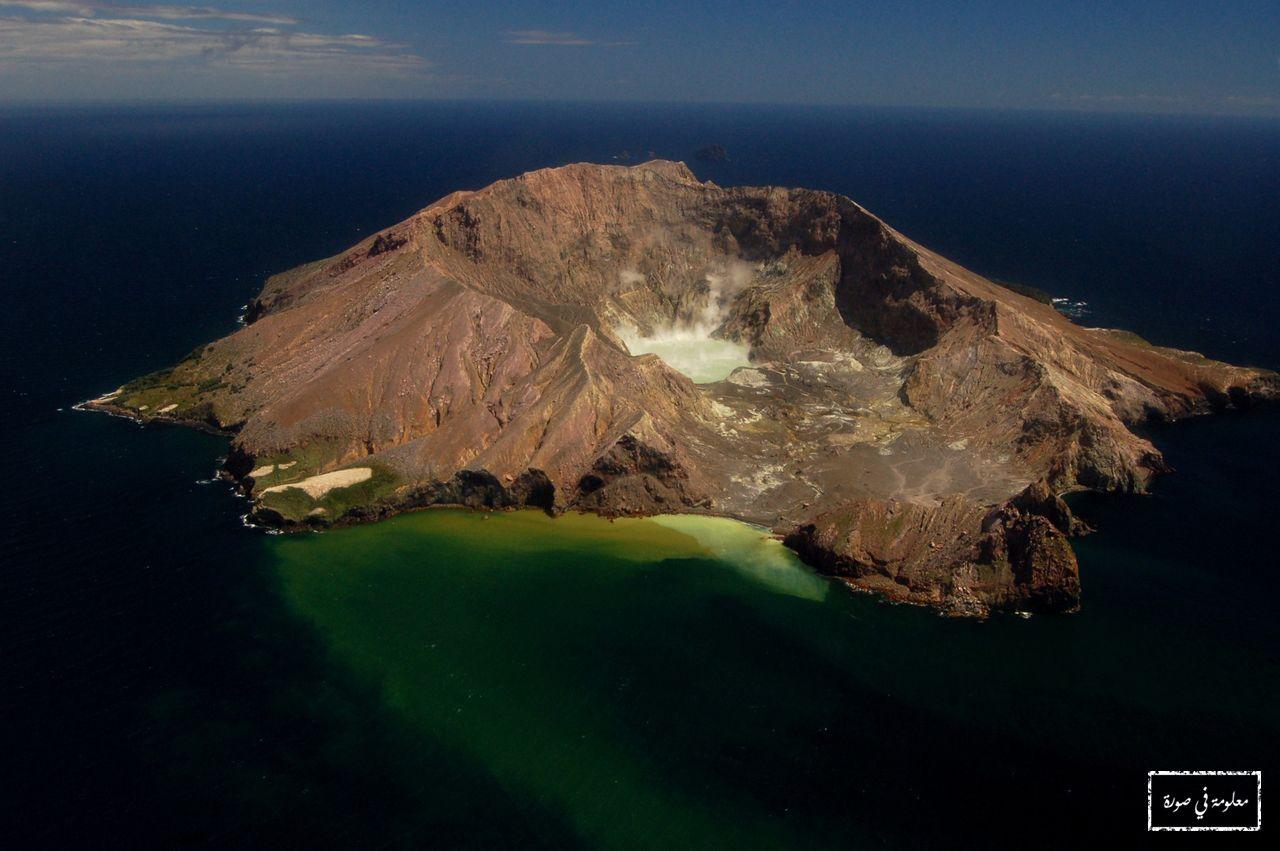 الجزيرة البيضاء في نيوزيلندا هي في الواقع جزيرة بركانية تشكلت منذ حوالي 150 ألف سنة من خلال عدة انفجارات بركانية مت Wonders Of The World Active Volcano Volcano