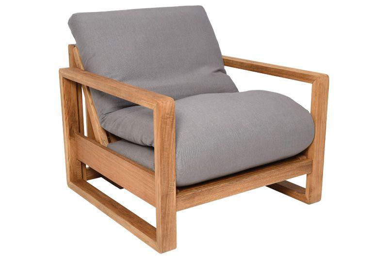 Oke - Single Seater 3 Panel Solid Oak Sofa Bed