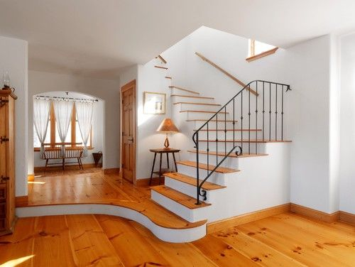 living - traditional - staircase - other metros - the finishing company