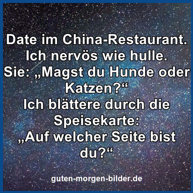 Date im China Restaurant   Lustig, Witze lustig, Witzige ...