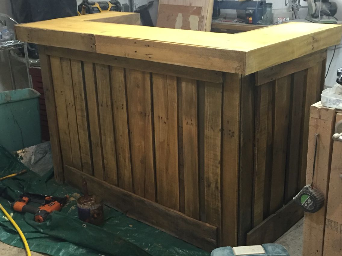 pallet bar my woodworking projects pinterest pallets wood