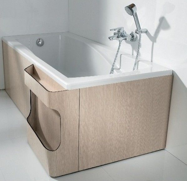 Roca bathtub panel // bath-material-idea   Bathroooms   Pinterest ...
