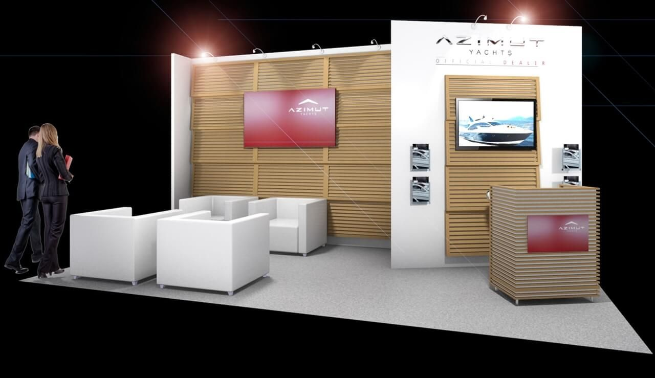 Modern Exhibition Stand Near Me : 6m x 3m exhibition stand design exhibition stand design