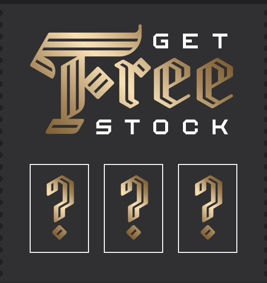 Free stock for just signing up! That's free money