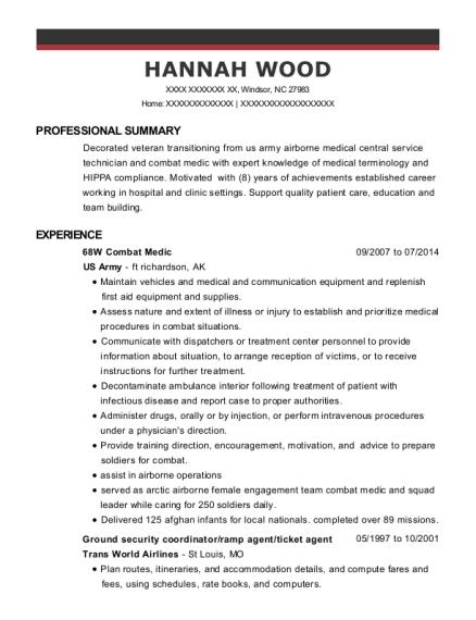 68W Resume Examples Resumeexamples