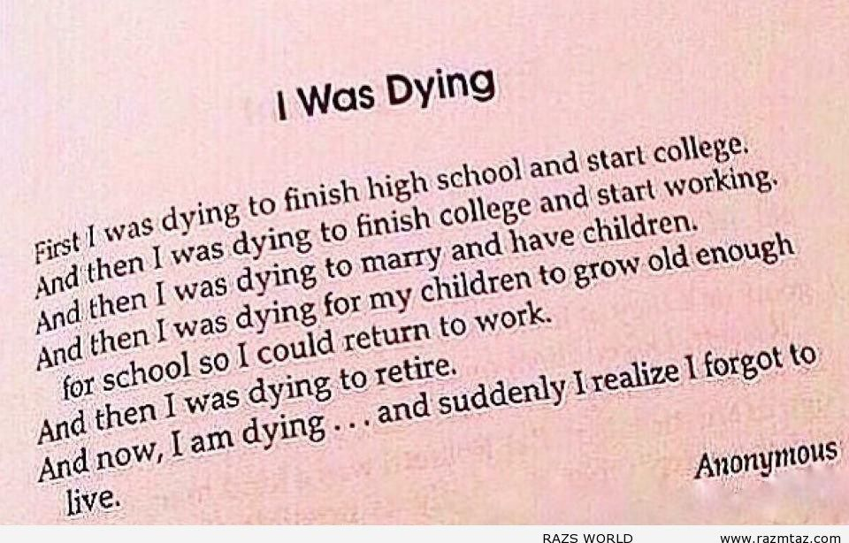 I WAS DYING.... - http://www.razmtaz.com/i-was-dying/