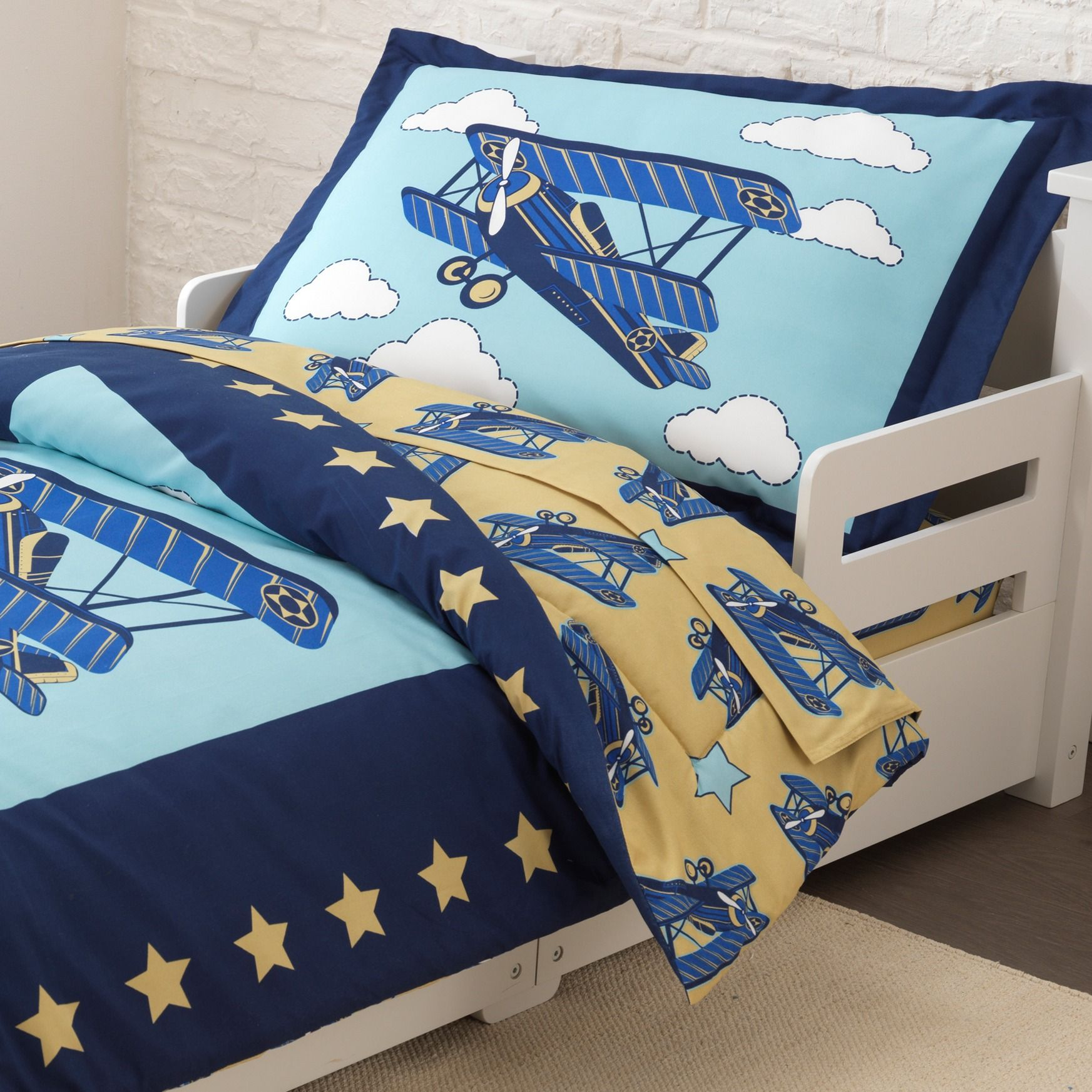 Kidkraft Airplane Toddler Bedding Set