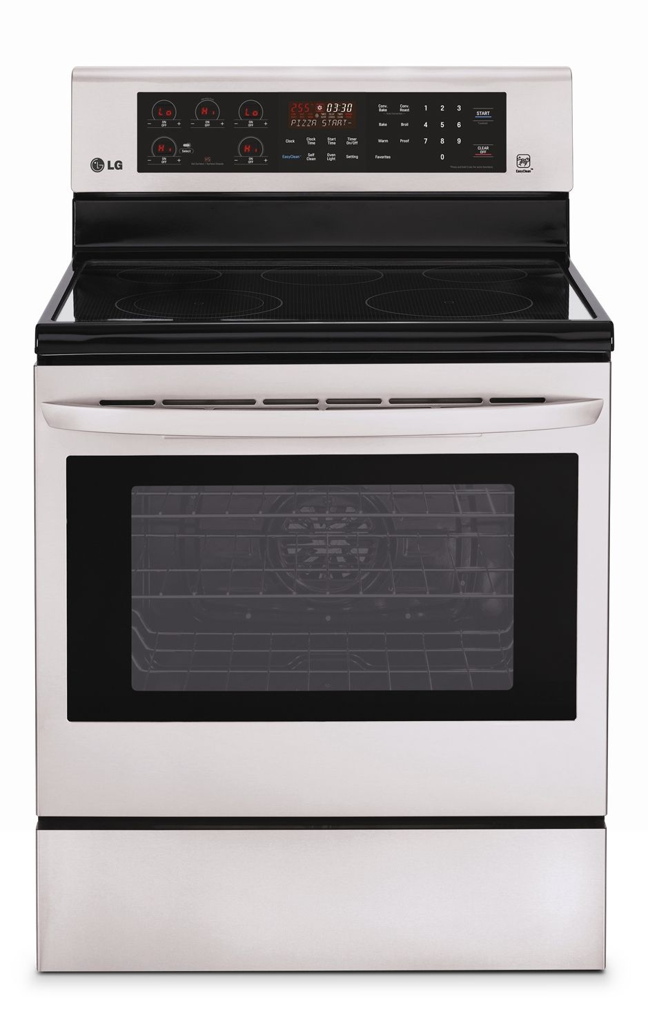 Cooking products lg appliances freestanding stainless steel