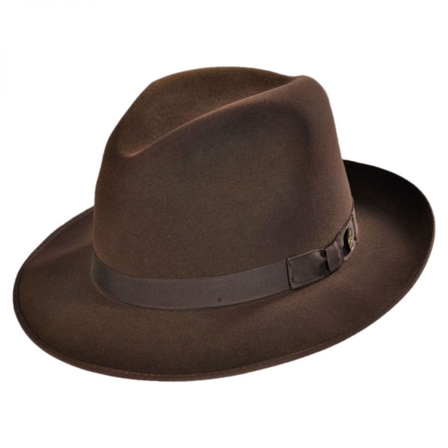 436398969 Runabout Packable Fur Felt Fedora Hat   Fedoras and Fur