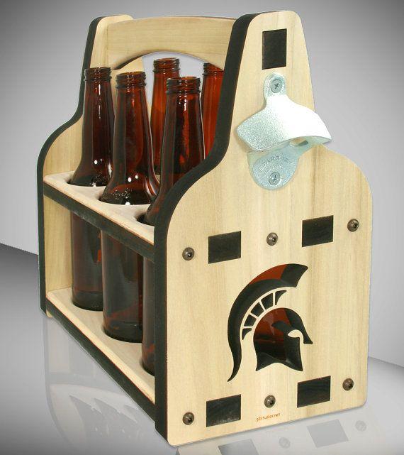 Ipa Lot 6 Pack Beer Holder Wood Beer Caddy Engraved Wood Etsy Beer Wood Beer Caddy Beer Holders