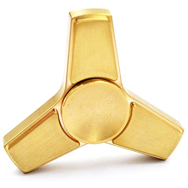 cigreen c3 fidget spinner in brass from spinnerhub trusted usa