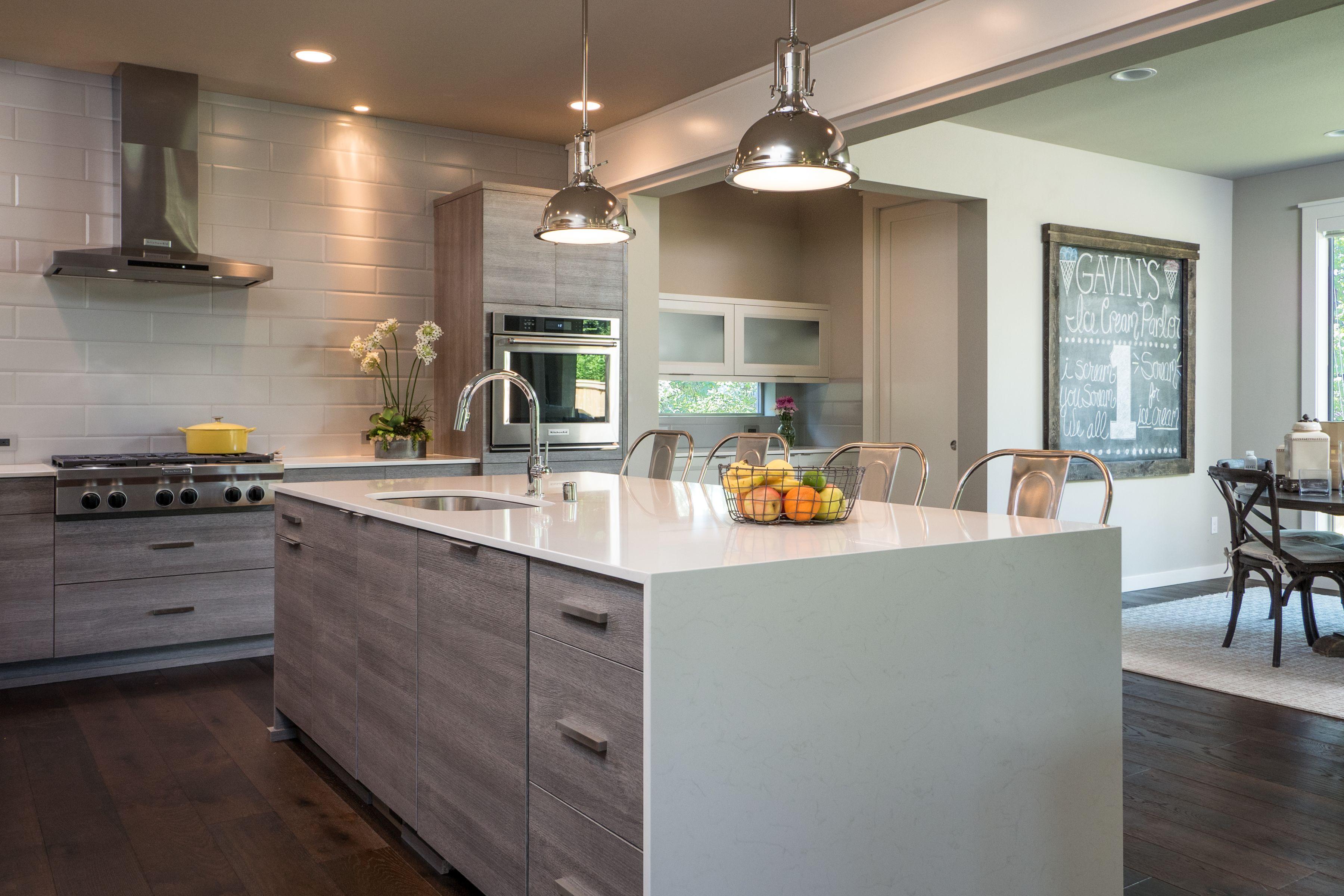 Latitude Cabinets - TERRA | Textured Laminate | Barnside ...