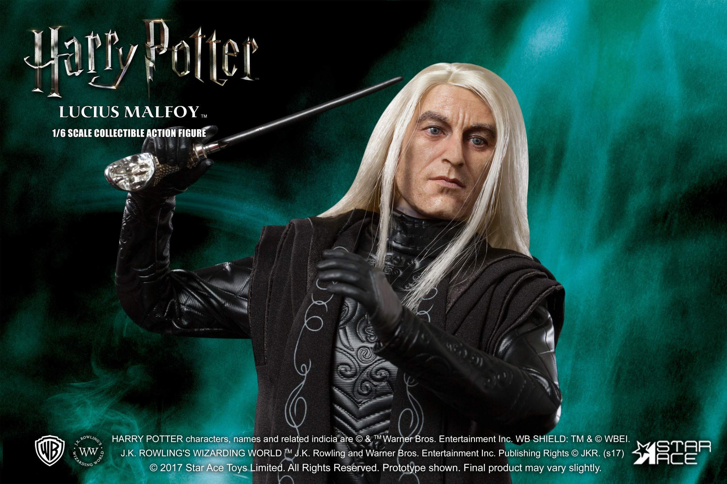 HARRY POTTER: LUCIUS MALFOY 1/6 Action Figure 12″ STAR ACE