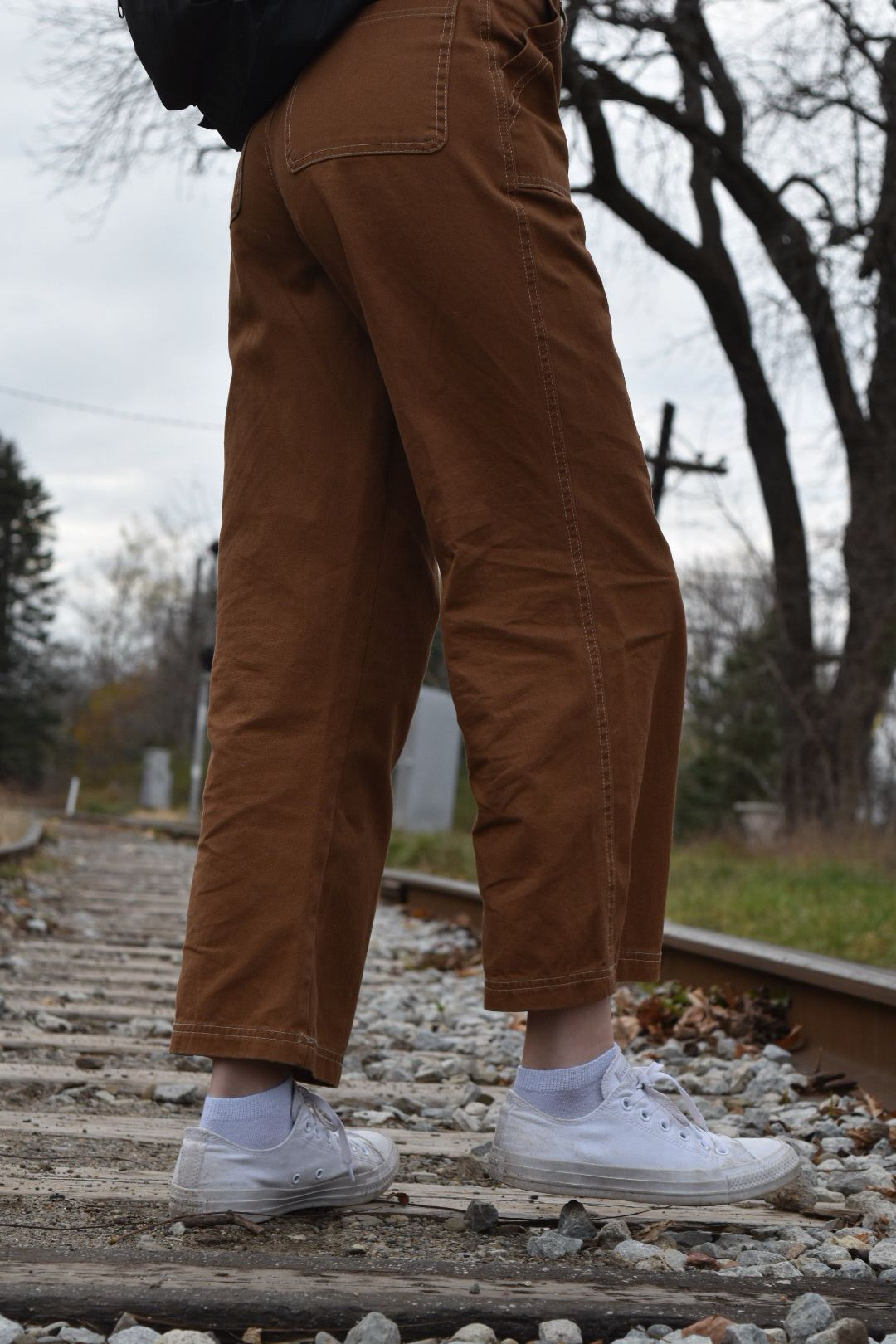 62ba48f67d7 cute brown cargo pants aesthetic outfit ideas | no $$$ in 2019 ...