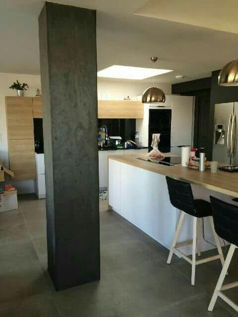 pingl par isabelle eid sur cr dence cuisine en 2018 pinterest carrelage deco et feuille. Black Bedroom Furniture Sets. Home Design Ideas