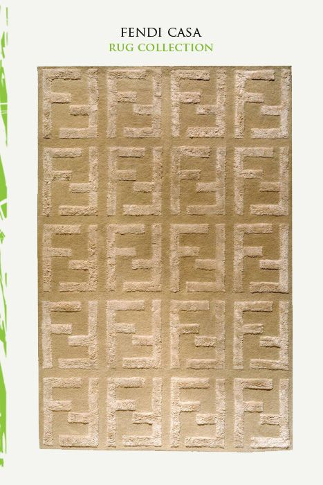Fendi Casa rug | The House of Beccaria# | Ideas for the ...
