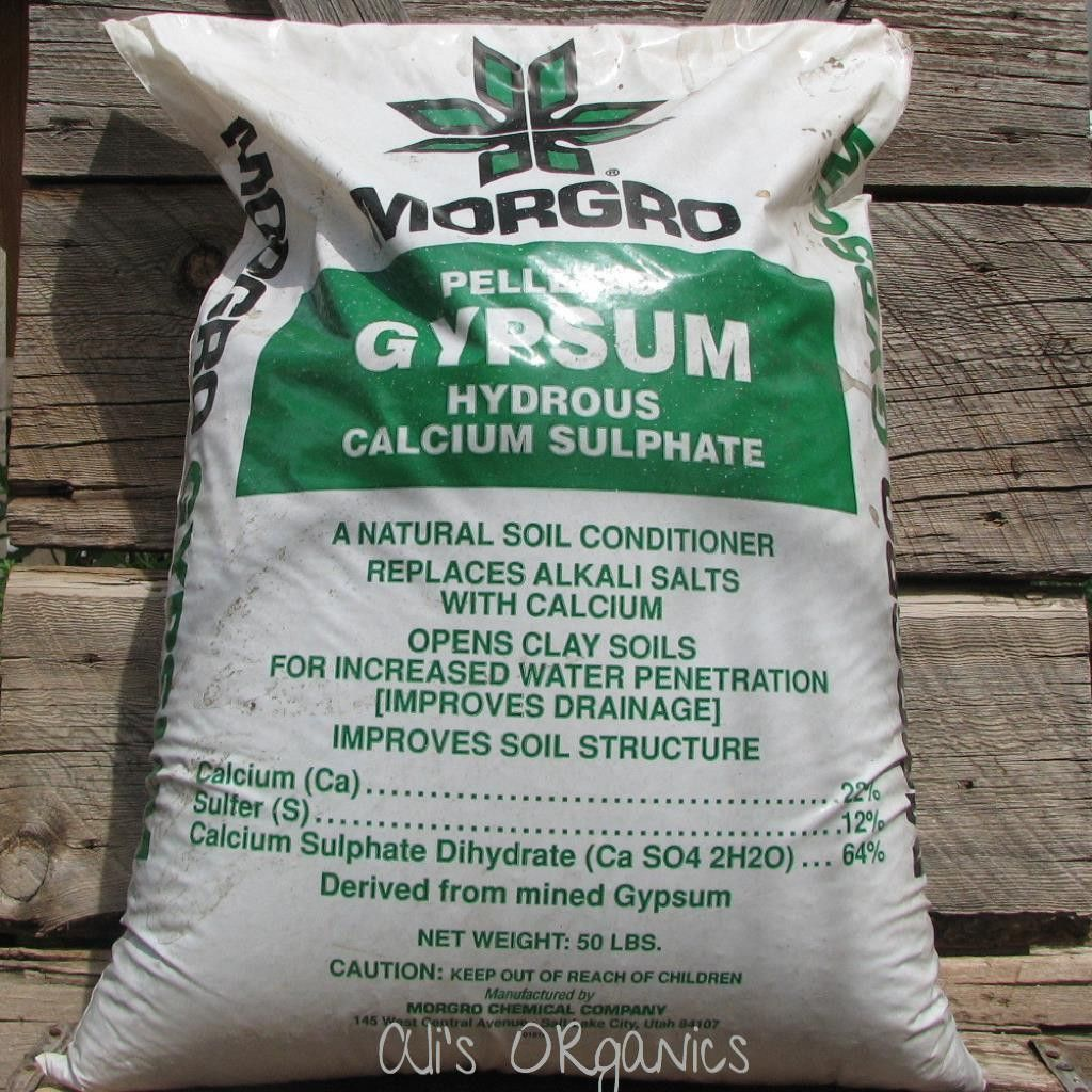 Lawn Garden Gypsum Clay Soil Lawn And Garden Soil Conditioner