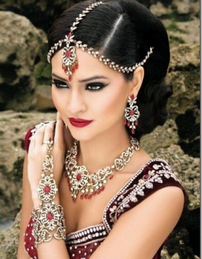 Indian Bridal Hairstyle Tutorial