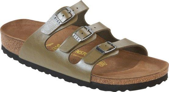 4c54d60b1dd1 Zdravotní obuv Birkenstock Florida - Khaki graceful   Birko-flor. více na   http