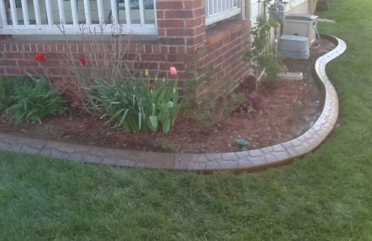 Concrete Curbing Springfield MO Garden design, Landscape
