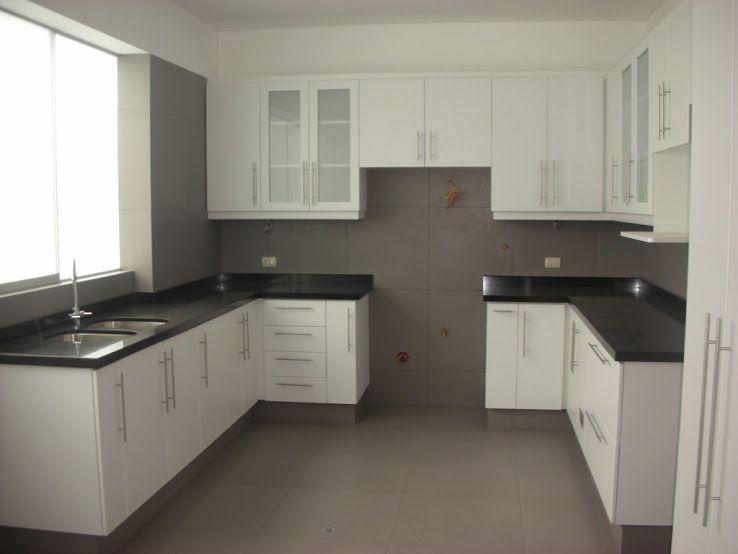 Resultado de imagen para mueble de cocina blancos for Muebles modulares de cocina baratos