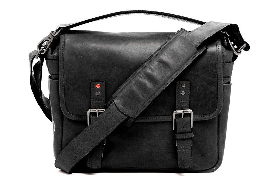 The Berlin II: ONA x Leica Collaboration Bag in black leathe