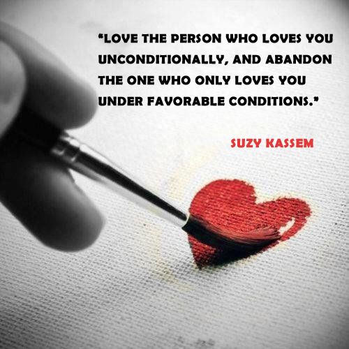 Love The One That Loves You Quotes Simple Love The Person Who Loves You Unconditionally And Abandon The One
