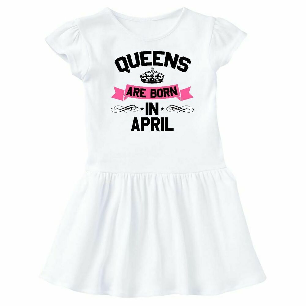 9e191b12 Inktastic Queens Are Born In April Infant Dress Birthdays Adult Queen Month  Gift #Affilink