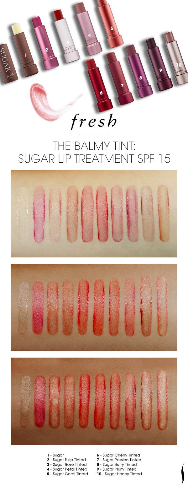 Fresh Sugar Lip Treatment Swatches : fresh, sugar, treatment, swatches, Fresh, Sugar, Treatments, Sephora, Beauty, Board, Treatment,, Balm,, Treatment
