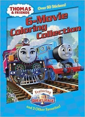 Thomas & Friends 6-Movie Coloring Collection! This JUMBO