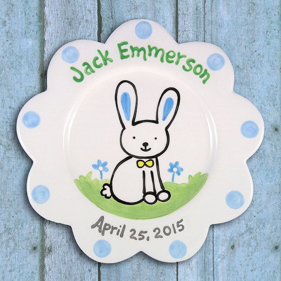 Baby gift personalized plate hand by littlewormandcompany baby baby gift personalized plate hand by littlewormandcompany negle Images