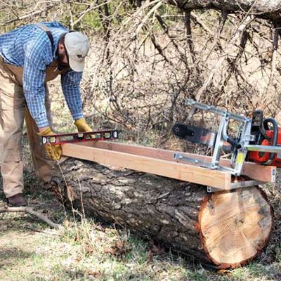 Use A Portable Sawmill To Make Your Own Lumber Homesteading And - Backyard sawmill