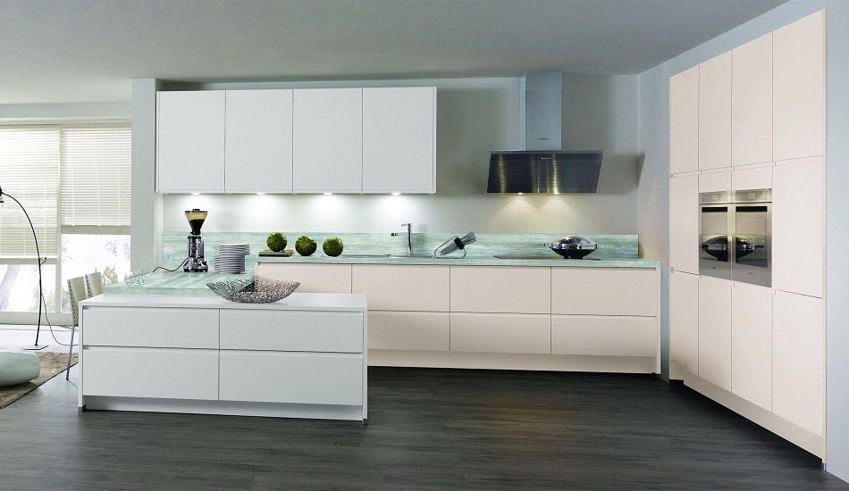 Einbauküche Ayda Weiss/Kaschmir | Kitchen | Pinterest | Suche | {Einbauküchen hochglanz weiß 90}