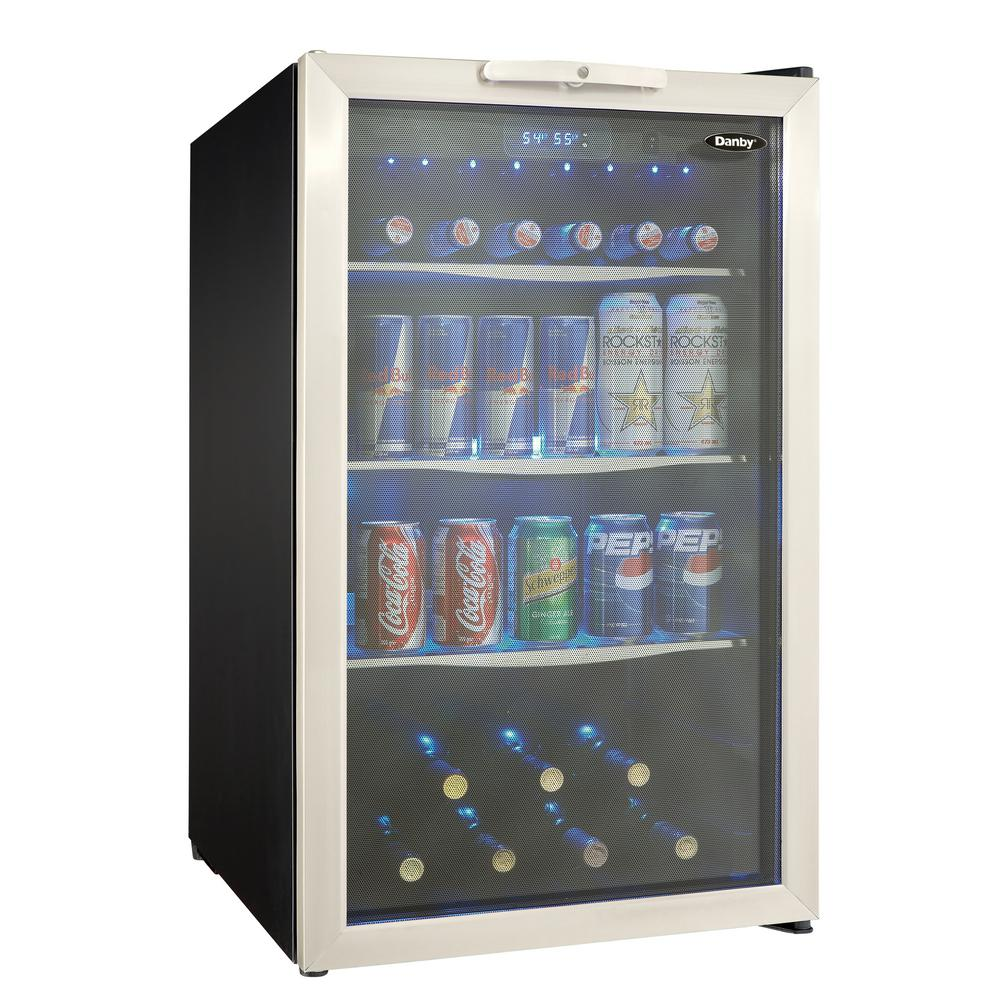 Titan 23 5 In 142 12 Oz Seamless Stainless Steel Built In Beverage Can Cooler Tt Cbc24142sz The Home Depot In 2020 Built In Beverage Cooler Beverage Center Beverage Cooler