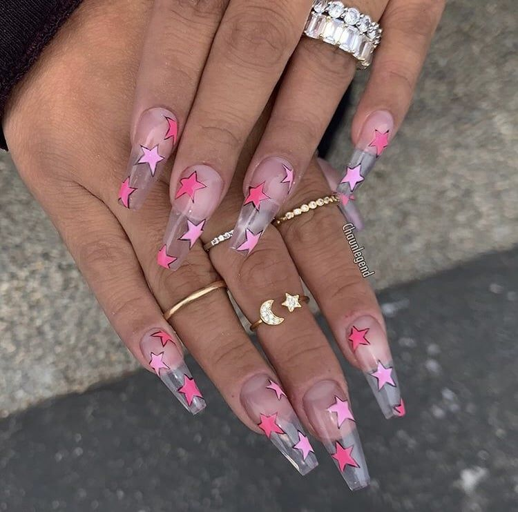 Pin by Biss Allison on Claws in 2020 | Coffin nails