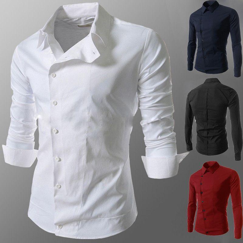 e849c5f851b Side Button Dress Shirt